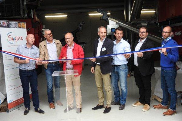 Inauguration du réseau chaleur-bois-énergie